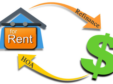 HOA properrty managment in regards to Rental property and bank refinance