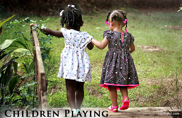 HOA rules + children playing without adult supervision