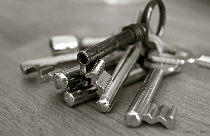 common area keys to HOA homeowners?